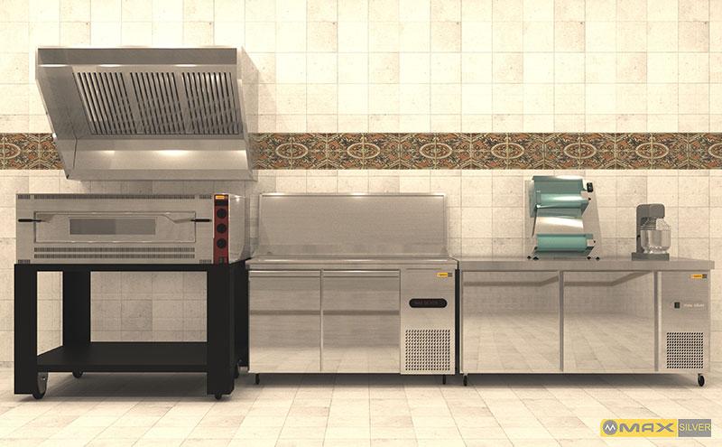 عکس تجهیزات پخت پیتزا